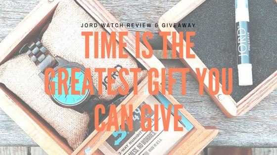 Time is the Greatest Gift You Can Give