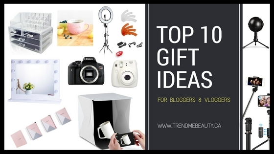 Top 10 Gift Ideas For Bloggers Amp Vloggers Trendmebeauty